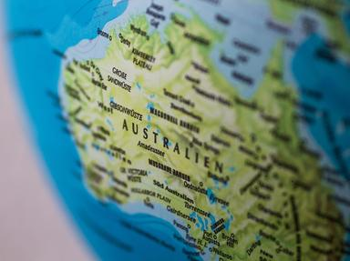 Quiz about Aussie Os in Geography