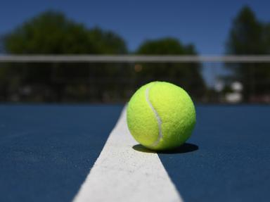 Tennis Quizzes, Trivia and Puzzles