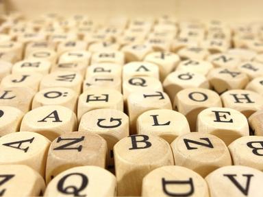 Letter Quizzes Quizzes, Trivia and Puzzles