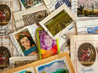Quiz about 170 Years of British Postage Stamps