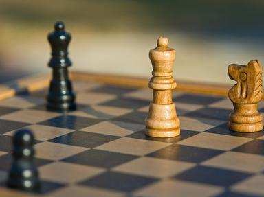 Quiz about Basic Rules of Chess