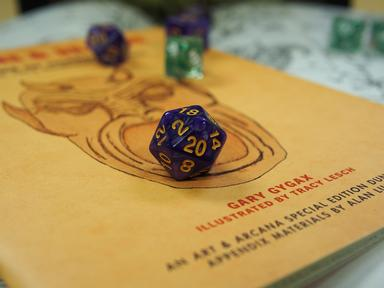 Dungeons and Dragons Quizzes, Trivia and Puzzles