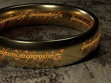 Books about Middle Earth Quizzes, Trivia and Puzzles
