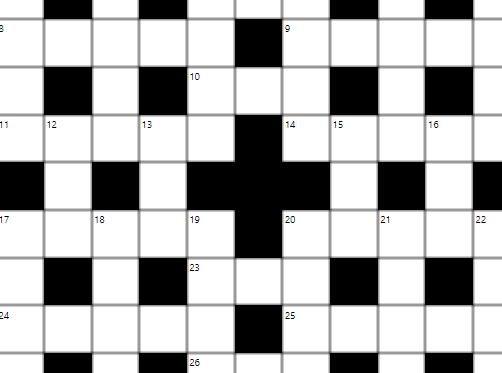 Online Crossword Puzzles At Fun Trivia 4100 Crosswords To Play