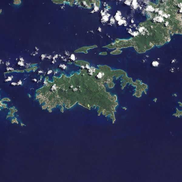 Our Next Island Within The U S Virgin Islands Is Located Just Four Miles Southwest Of The Largest Of The British Virgin Islands