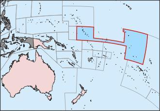 Dawns Early Light Quiz Questions - Kiribati map quiz